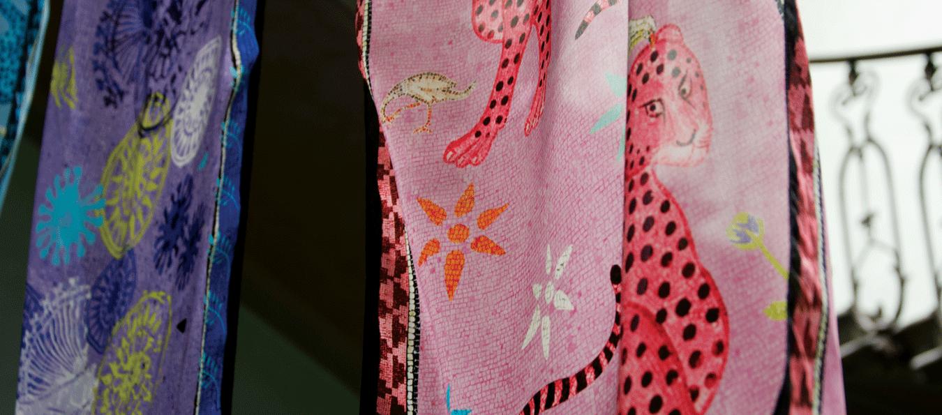 Fascia Silk Scarves