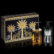 Ambra Nera Liquid Soap & Body Cream Box