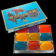 Turquoise Assorted Box - 9 Glycerine Soaps